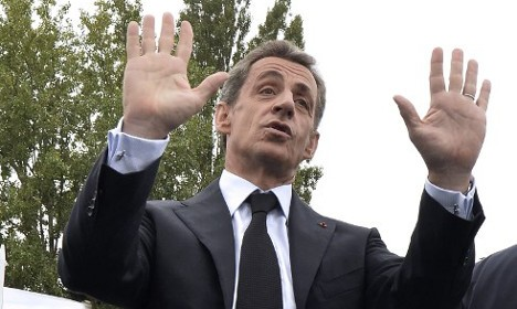 French Politician Nicolas Sarkozy