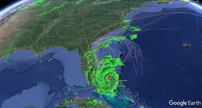 10-06-16-matthew-18z-spaghetti-plots-radar