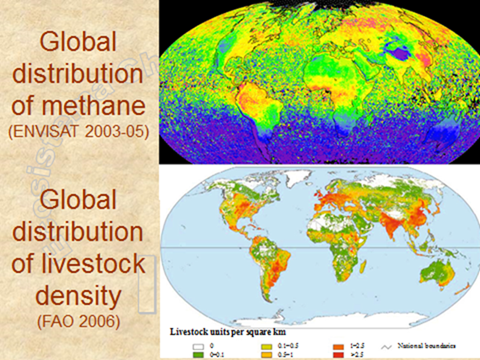 Methane madness the battle for our grasslands and livestock top global atmospheric methane distribution as measured by the envisat satellite over three complete years 2003 2005 69 70 sciox Gallery