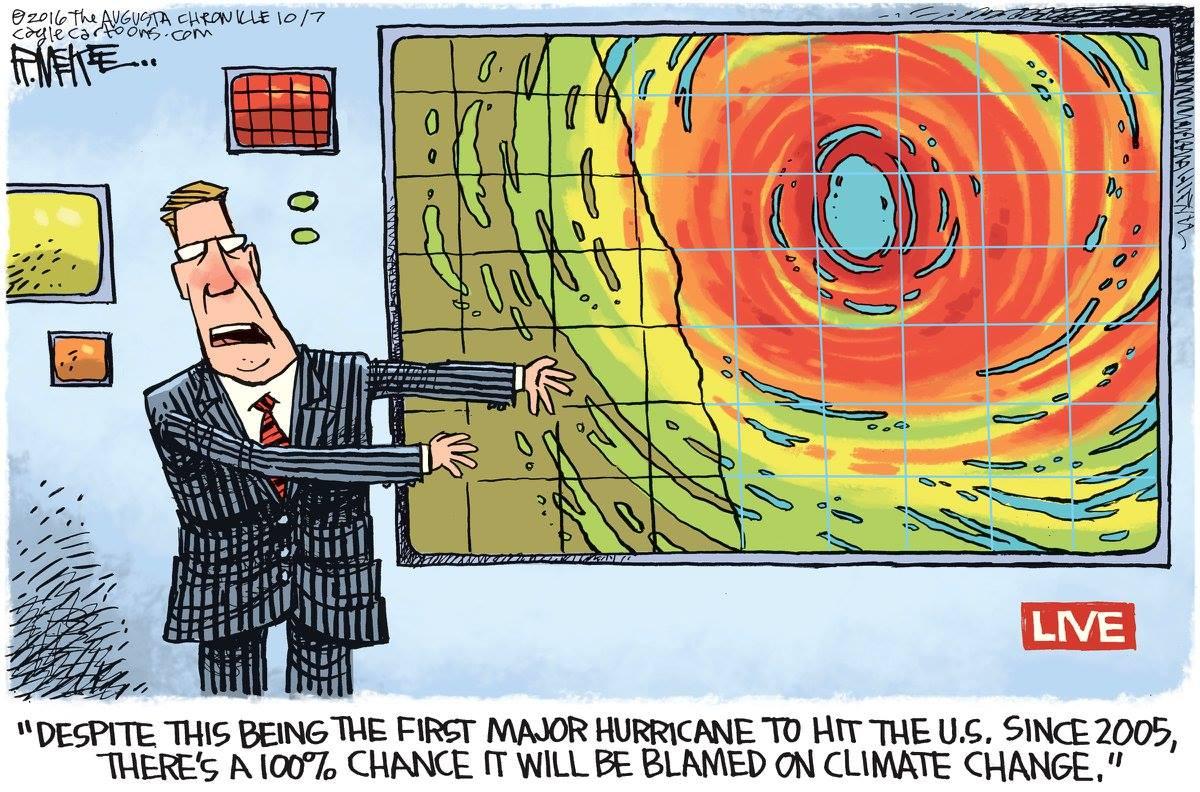 Friday Funny Cat5 Alarmism Aka The Climate Change