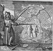 Philosopher's stone as pictured in Atalanta Fugiens Emblem 21 Image: Wikipedia
