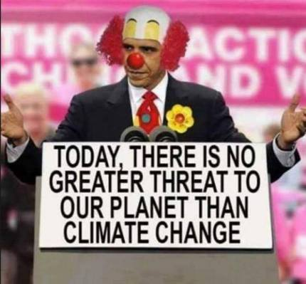 obama-clown-sees-climate-change-as-enemy-one