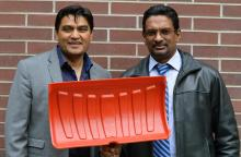 This image shows UBC's Rehan Sadiq (left) and Kasun Hewage. CREDIT UBC