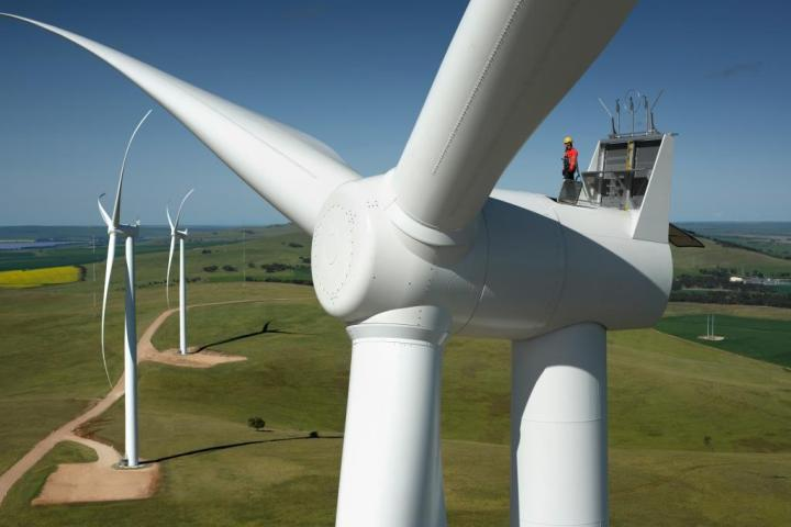 Snowtown Wind Farm - Image: Trustpower