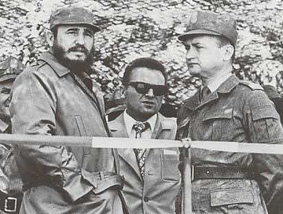 Wojciech Jaruzelski and Fidel Castro (May 1972)