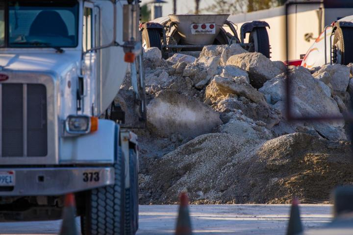 An international team of researchers including UCI Earth system scientist Steven Davis has found that over time, cement reabsorbs a significant portion of the CO2 emitted when the material was manufactured. CREDIT Steven Davis / UCI