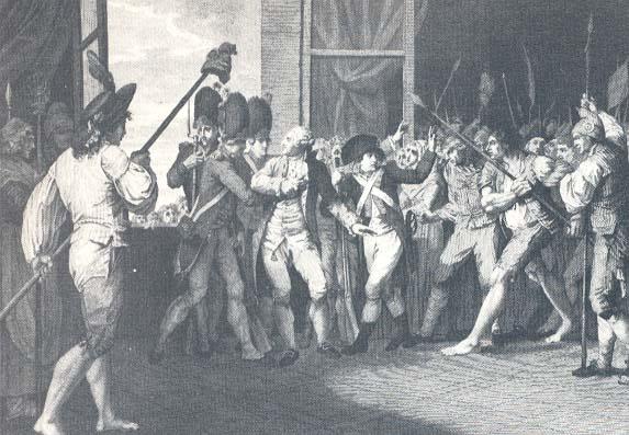 Journées Révolutionnaires à Paris : Louis XVI se réfugie à l'Assemblée - June 1792
