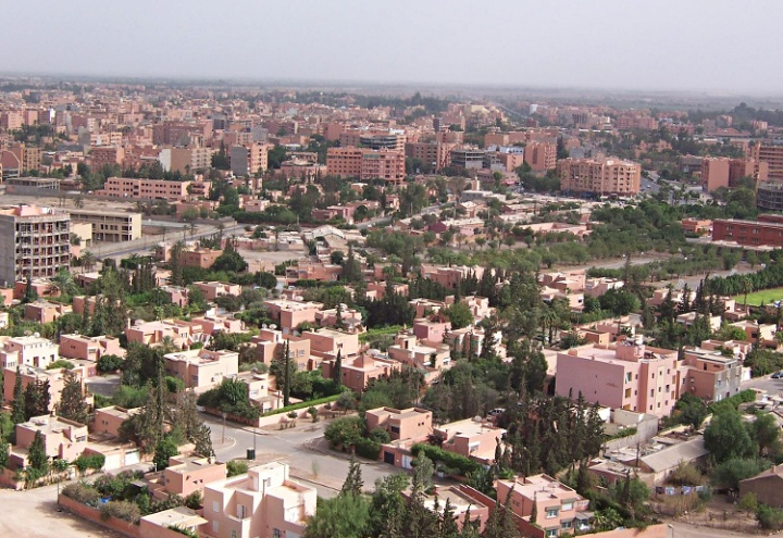 Marrakesh - View from the Hill.