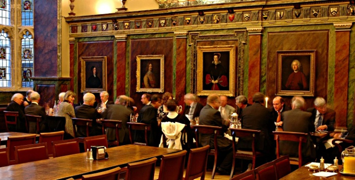 Oxford Trinity College High Table