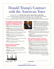 President Trump's Contract with the American Voter