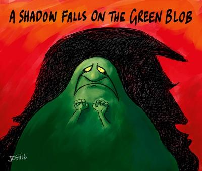 Image result for Josh cartoon green blob