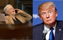 Gina McCarthy and Donald Trump
