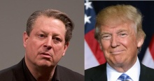 Al Gore and Donald Trump