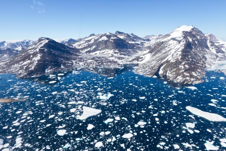 How much of Greenland's ice melted during past periods of global warming? Two first-of-their-kind studies in Nature look much deeper into the history of Greenland than previous techniques allowed. One of the studies, led by University of Vermont geologist Paul Bierman, concludes that East Greenland -- like the coastal scene shown in this image from near Tasiilaq -- has been actively scoured by glacial ice for much of the last 7.5 million years. The other study presents contrasting results suggesting the disappearance of the ice sheet over the center of Greenland during at least some of the Pleistocene. The two studies improve our understand of Greenland's deep past, while raising questions about both the past and future of its giant ice sheet in a changing climate. CREDIT Joshua Brown/UVM