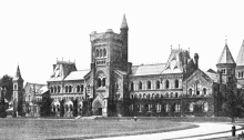 Main building of the University of Toronto, 1906