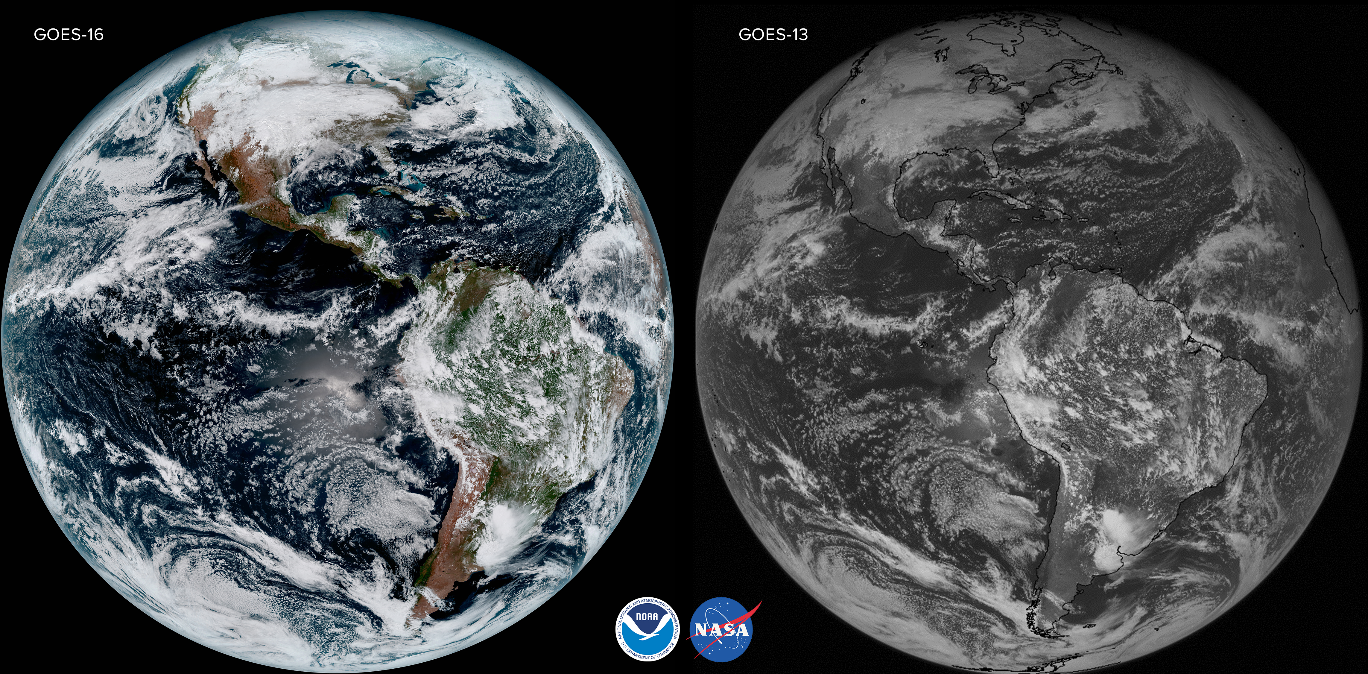Stunning Earth UHD Imagery From New GOES Satellite Watts Up - Noaa world satellite map
