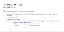 homogenize-definition