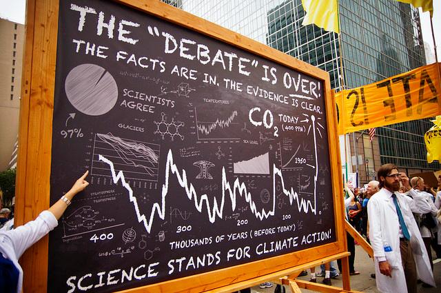 The Debate is Over. By Joe Brusky, source Flickr