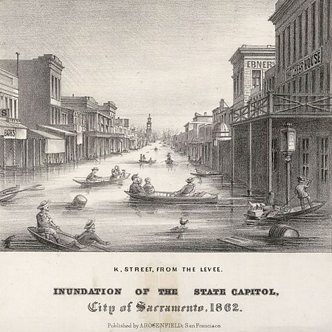 California's Megafloods of the Past