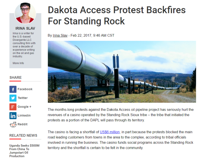 The three ironies of the Dakota Access Pipeline protests