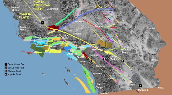 Earthquake San Diego >> Fault off San Diego, Orange, Los Angeles counties could ...