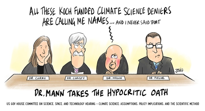Hump Day Hilarity: Mann-o-War at the House Climate Science
