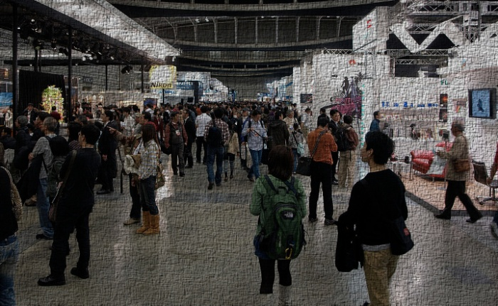 Large Trade Show.