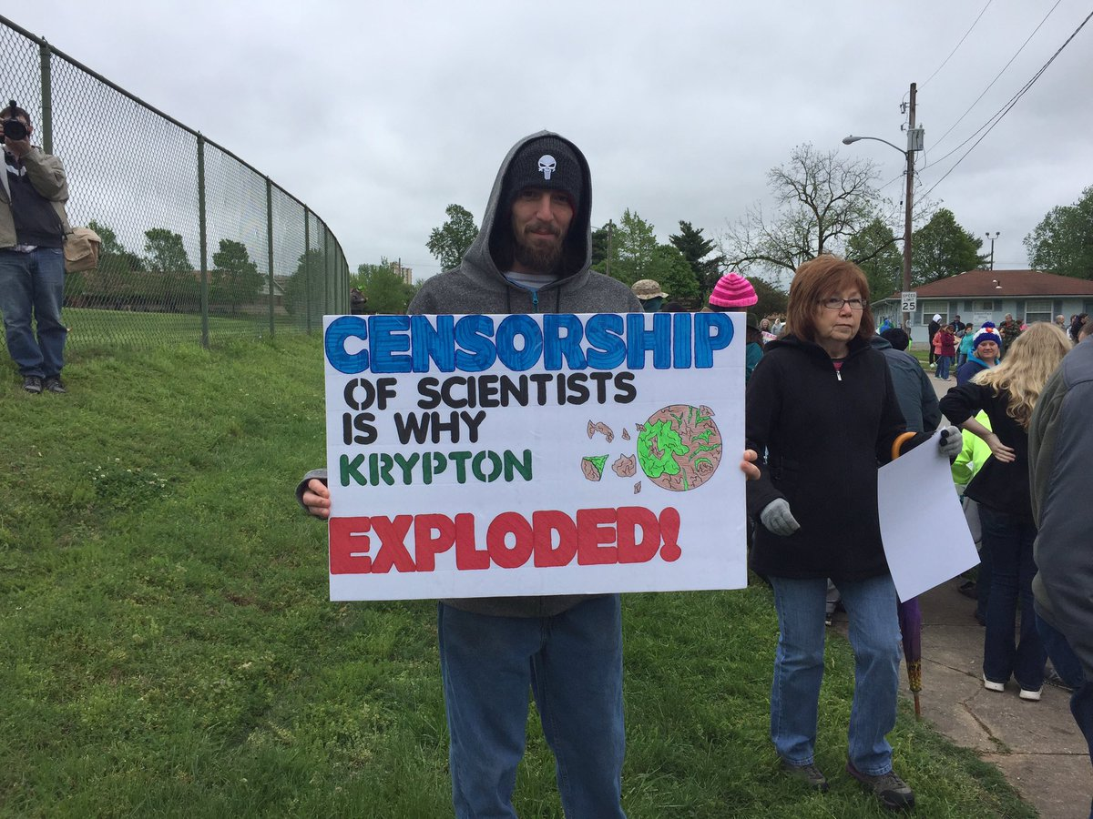 craziest activist photos from the  marchforscience