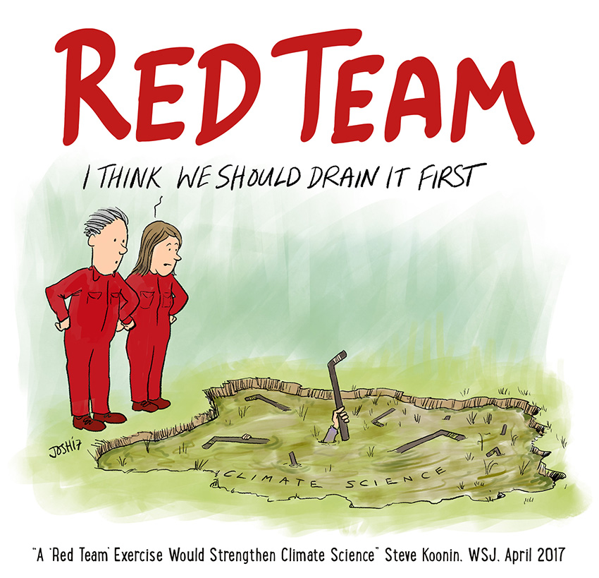 Image result for red team blue team climate