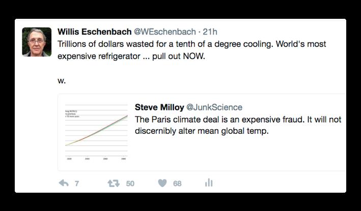 tweet paris climate deal