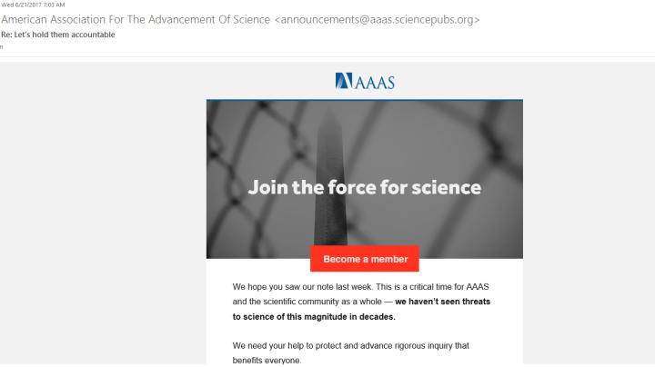AAAS spam2