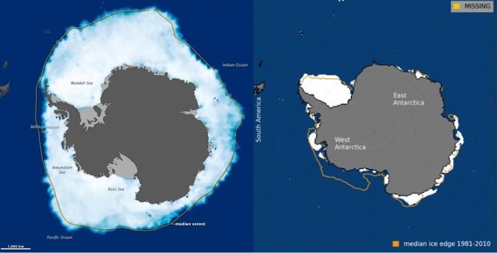 AGU: Extraordinary storms caused massive Antarctic sea ice ...