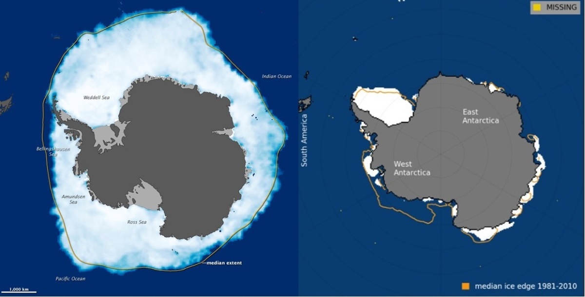 AGU: Extraordinary storms caused massive Antarctic sea ice loss in 2016