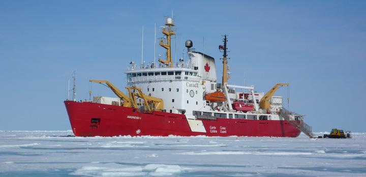 Icebreaker CCGS Amundsen