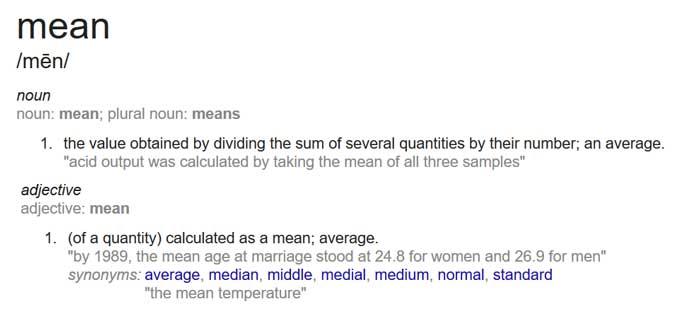 mean_definition