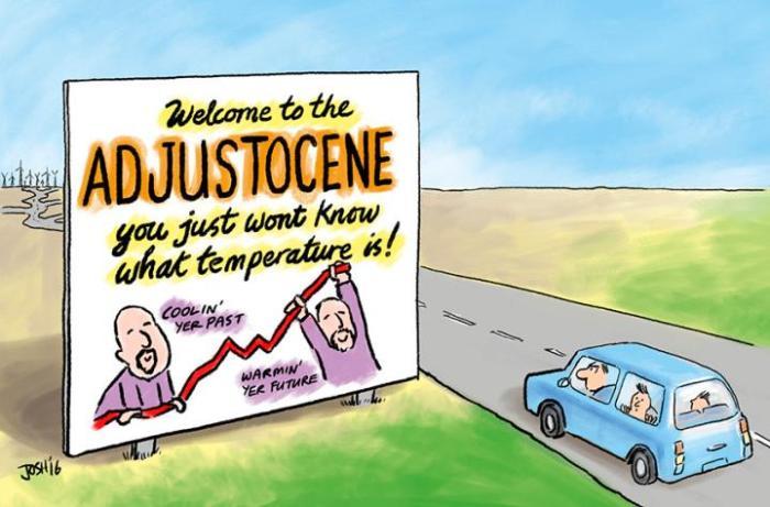 Adjustocene Cartoons by Josh