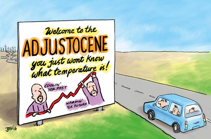 Adjustocene Cartoons by Josh