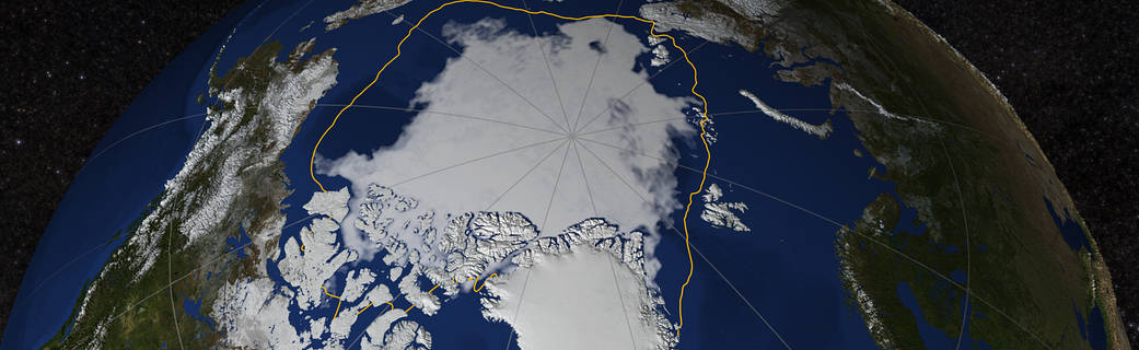 Arctic sea-ice extent ends up not even close to setting a new low record