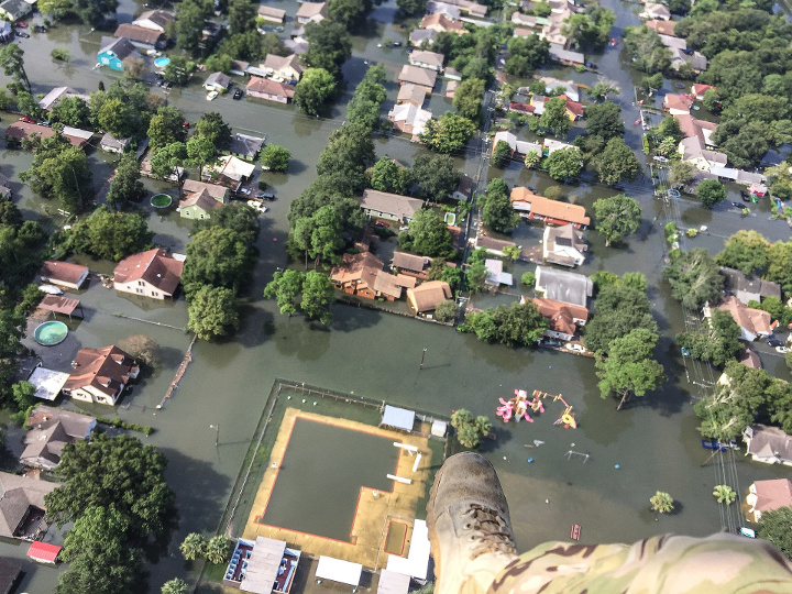 Hurricane Harvey Rescue Operations
