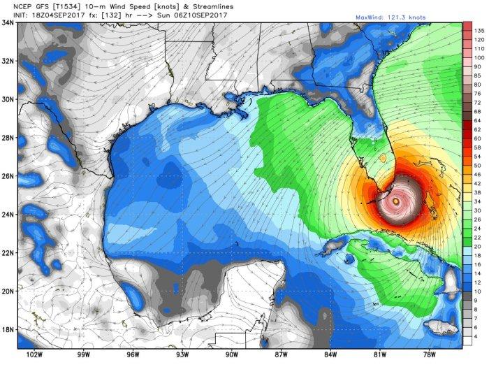 Hurricane #Irma just entered