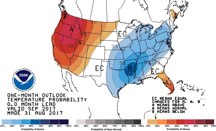 Exceedingly Early Frost Possible For US Corn Belt Next Week - Us frost line map