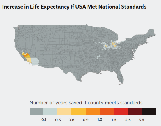 Air Quality In The Contiguous United States 35002198 MapPorn NASA