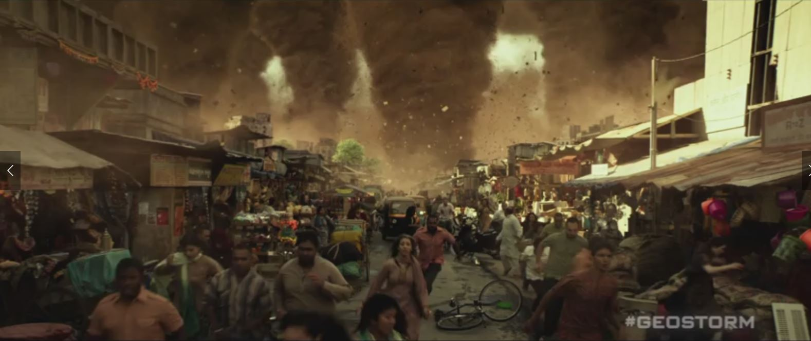 #Geostorm – another climate related disaster movie, crashes and burns