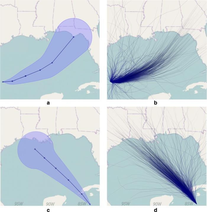 Claim: general public can't read hurricane forecast tracks