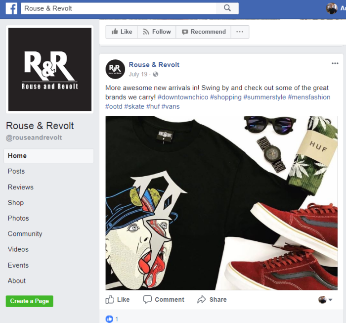 rouse-revolt-facebook-page