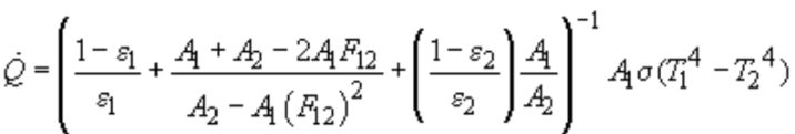 two way radiation equation