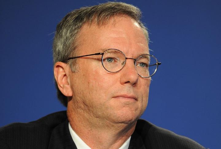 Eric Schmidt, Former Chairman of Alphabet (Google).