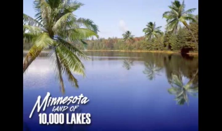Artists impression of Minnesota after global warming.