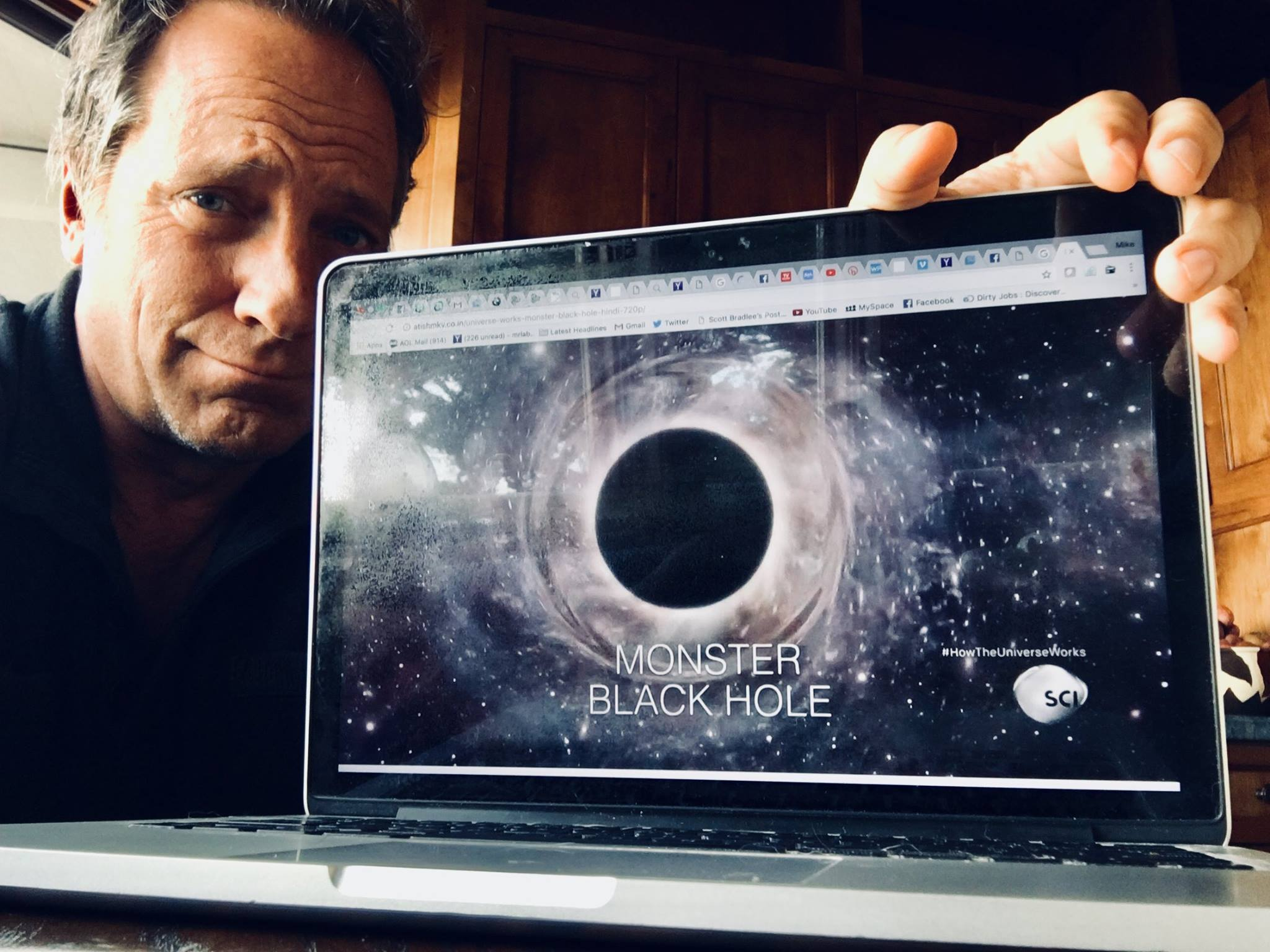 """Mike Rowe schools a woman who labels him an """"anti-education, science"""