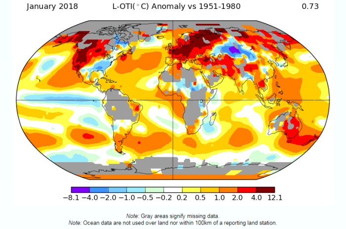 Overheated claims on global temperature records | Watts Up